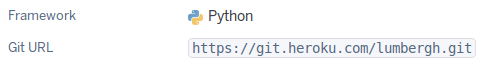 Webhook integration git URL